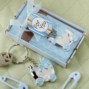 baby carriage favors key chains
